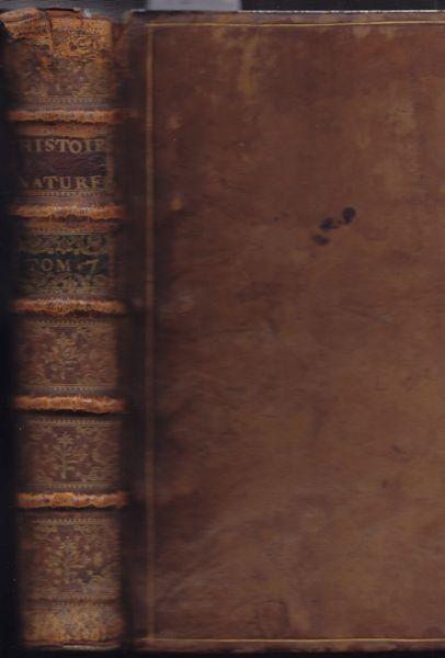 BUFFON, Louis Le Clerc, Histoire naturelle... 1758