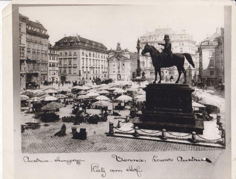 Austria-Hungary - Vienna, Lower Austria. Platz am Hof.