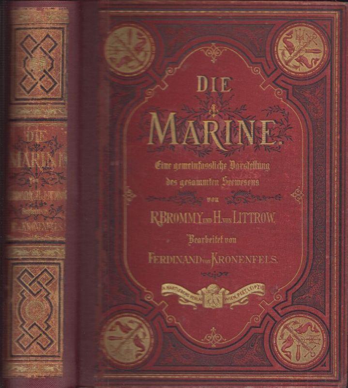 Die Marine. Eine gemeinfassliche Darstellung des gesammten Seewesens. BROMMY, Ru