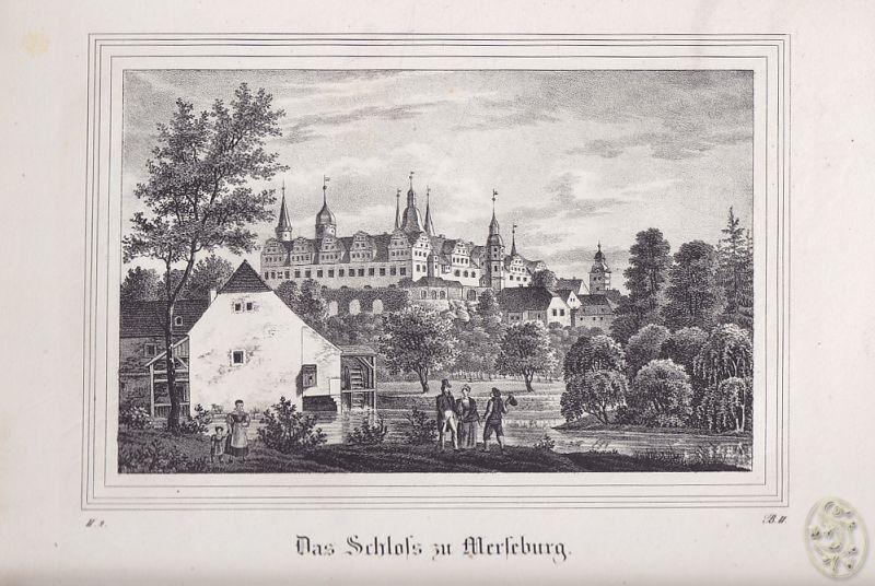 Das Schloß zu Merseburg.