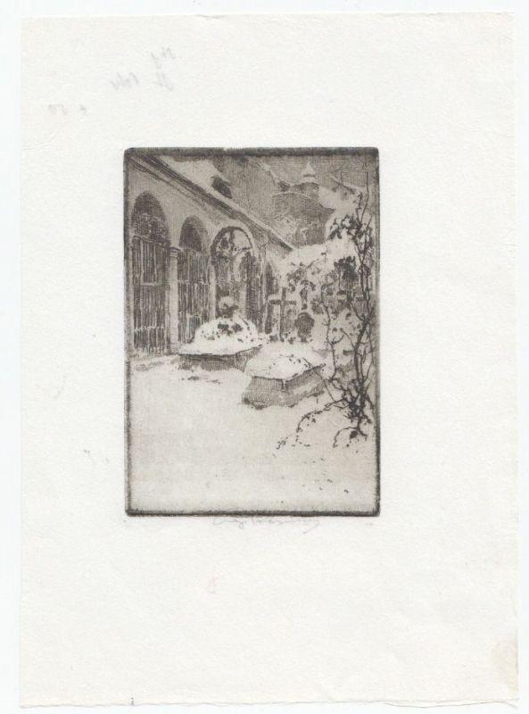 [St. Peter]. KASIMIR, Luigi. Graphiker (1881-1962).