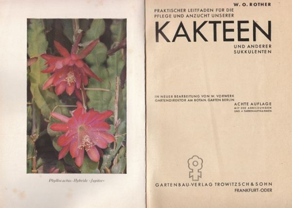 ROTHER, Praktischer Leitfaden für die Pflege... 1930
