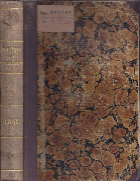 JANKE, Jahrbuch der Viehzucht nebst... 1868