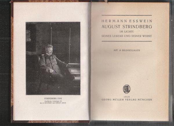 ESSWEIN, August Strindberg im Lichte seines... 1919