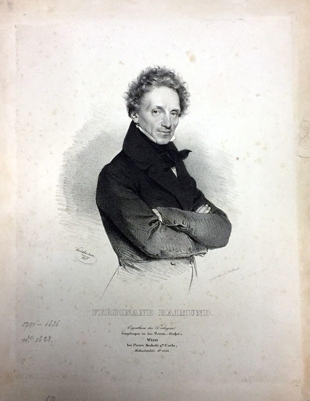 Ferdinand Raimund. KRIEHUBER, Josef.