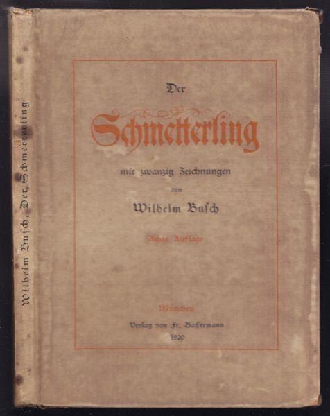 BUSCH, Der Schmetterling. 1920