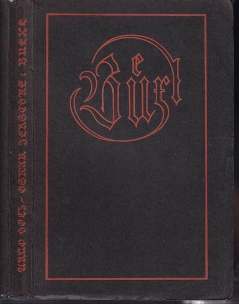 HOLZ, Büxl. Komödie in drei Akten. 1911