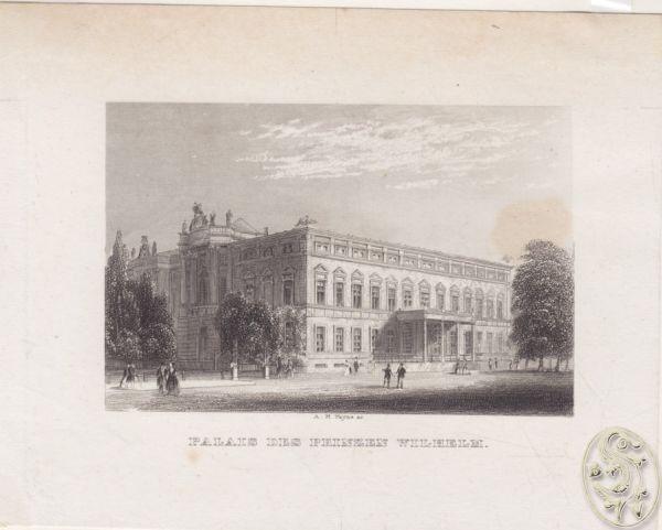 Palais des Prinzen Wilhelm 1840