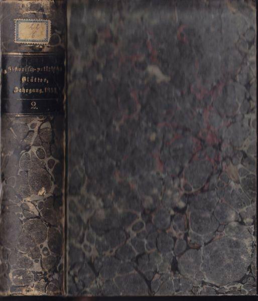 Historisch-politische Blätter für das... 1852