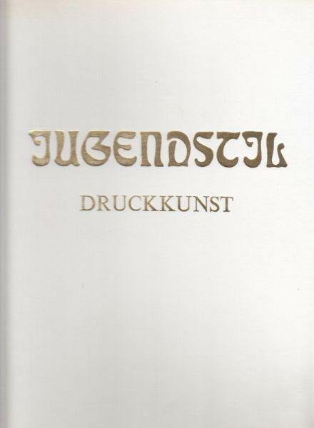 HOFSTÄTTER, Jugendstil. Druckkunst. 1973