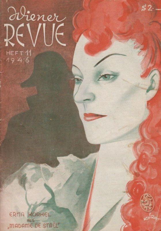 Wiener Revue. Red. M. R. Gura.