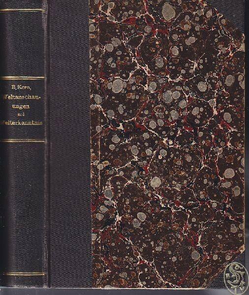 KERN, Weltanschauungen und Welterkenntnis. 1911