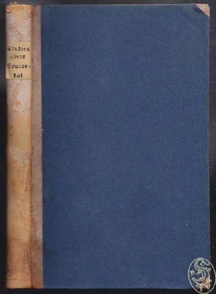 FESSLER, Studien über das österreichische... 1856
