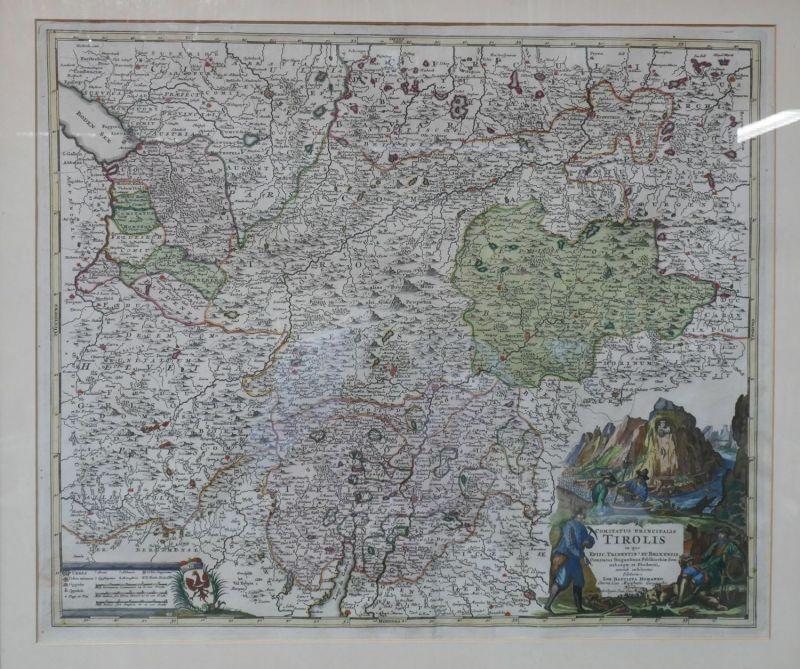 Comitatis Principalis Tirolis in quo Episc. Tridebtin et Brixensis. Comitatus Br