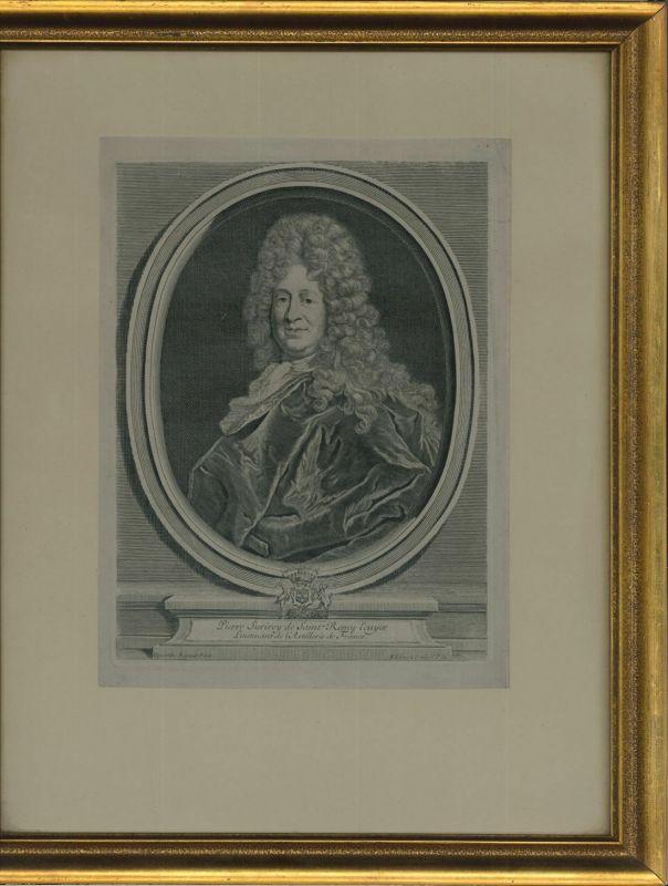 Pierre Surirey de Saint Rémy, Ecuyer, Lieutenant de l`Artillerie de France.