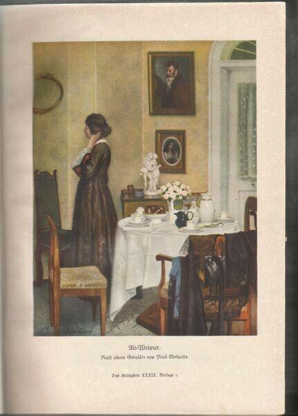 Das Kränzchen. Illustrierte Mädchen-Zeitung. 1939 1821-04