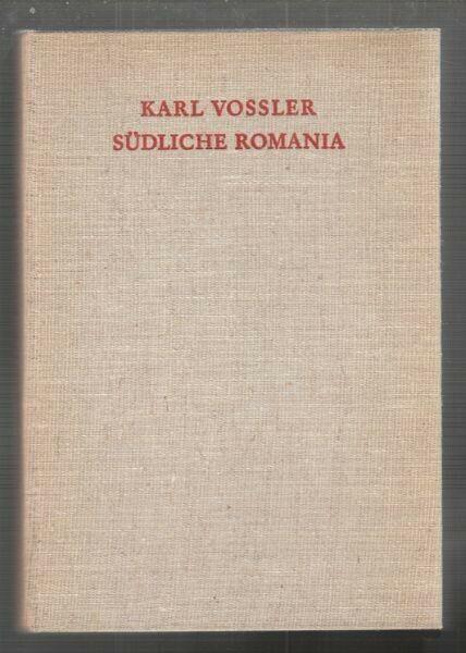VOSSLER, Südliche Romania. 1940 5095-01
