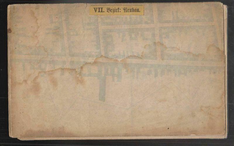 Häuser, Gassen- und Strassen-Plan vom VII. Bezirke Neubau umfassend einen Theil