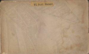 Häuser, Gassen- und Strassen-Plan vom VI. Bezirke Mariahilf umfassend einen Thei