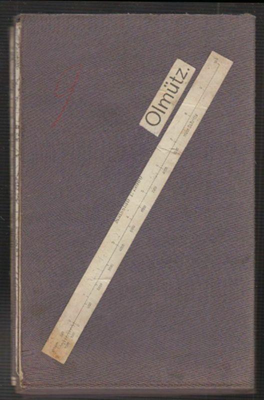 [Karte von] Olmütz. Maßstab 1: 75.000.
