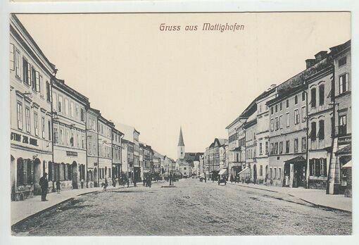 Gruss aus Mattighofen. 1890