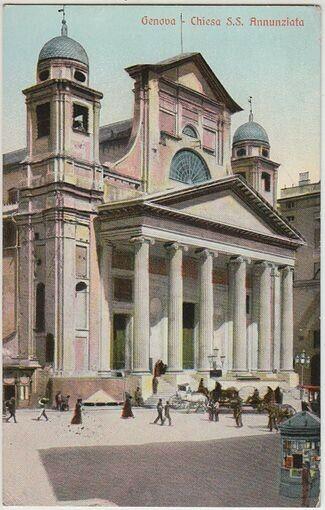 Genova - Chiesa S.S. Annunziata. 1900