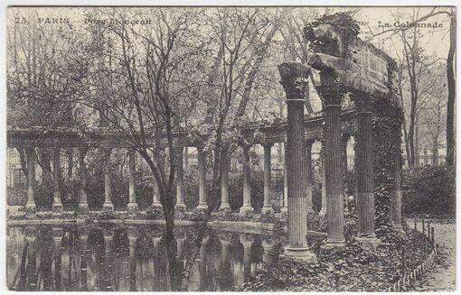 75. Paris. - Parc Monceau. C. M. La Colonnade. 1900
