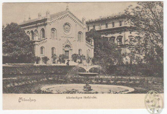 München.- Allerheiligen Hofkirche.