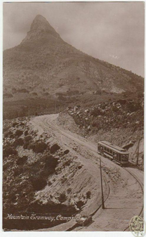 Mountain Tramway. Camp`s Bay.