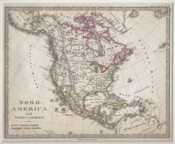 Nord-America und West-Indien. 1845