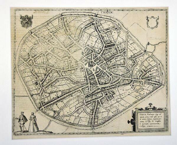 Tiena, Brabantiae Op: ad amnem Geta, unde... 1580
