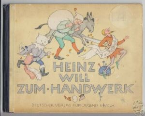 Heinz will zum Handwerk. 1928