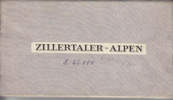 Zillertaler-Alpen. 1900