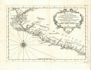 Parte della Costa di Guinea Dal Fiume di Sierra Leona sino al Capo das Palmas.
