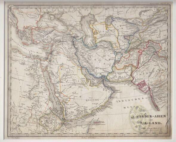 Vorder-Asien und Nil-Land. 1845