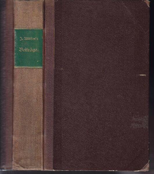 STERN, Volksbibliothek der Literatur des... 1866