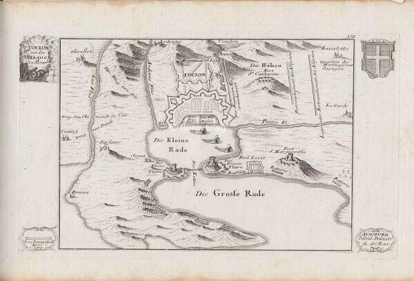 BODENEHR, Toulon mit der Ataque in A.o 1707. 1725