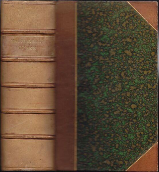 MACHIAVELLI, Tutte le Opere. 1833