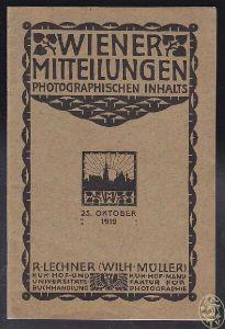 Wiener Mitteilungen aus dem Gebiete der... 1912