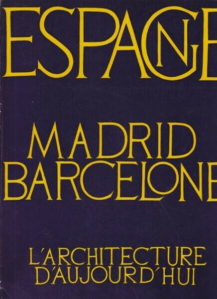 Architecture d'aujourd'hui. 1970
