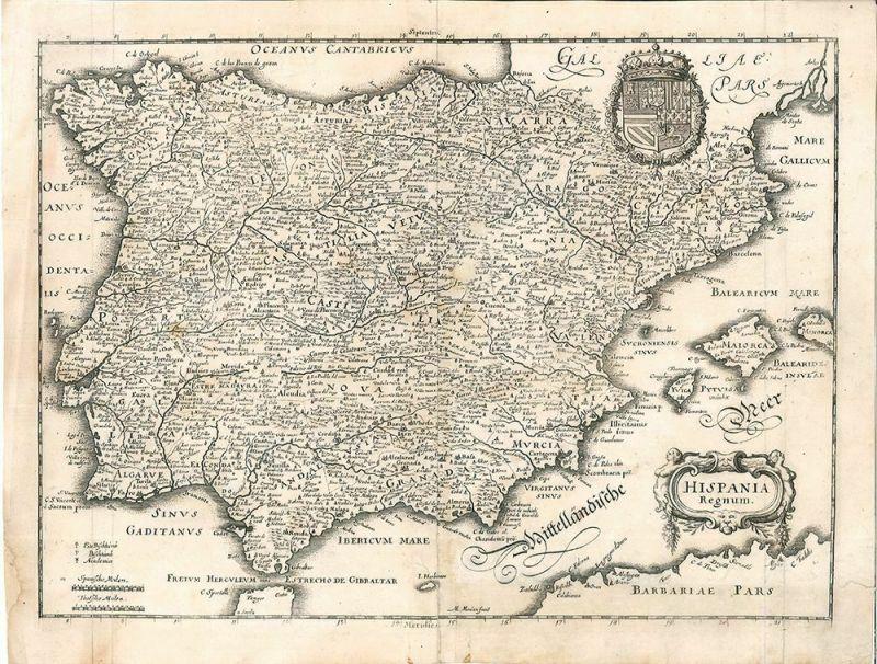 Hispania Regnum. MERIAN, Matthäus.