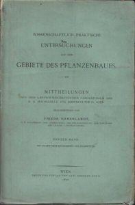 HABERLANDT, Wissenschaftlich-Praktische... 1875