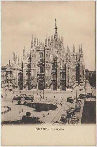 Milano - Il Duomo. 1900