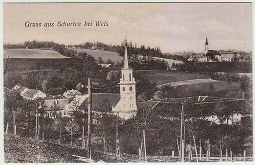 Gruss aus Scharten bei Wels. 1900 3047-11