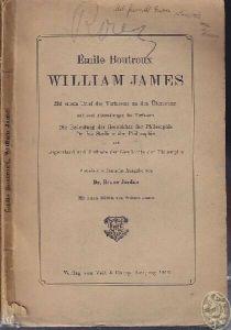 BOUTROUX, William James. Mit einem Brief des... 1912