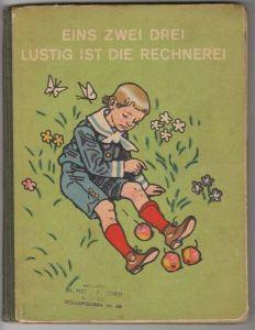FALK, Eins zwei drei lustig ist die Rechnerei. 1924
