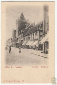 Hilsen fra Helsingor. Stengade - Radhuset.