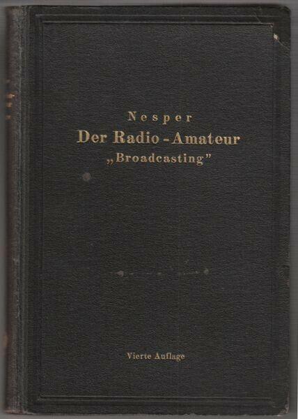 NESPER, Der Radio-Amateur