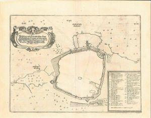 Abbildung und Grundriß der Statt Weissenburg im Nortgaw, wie solche von den Kay.