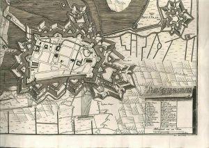 Plan General von der Attaque auf die Vestung Air. Anno 1710.